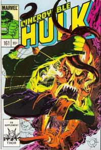 Cover Thumbnail for L' Incroyable Hulk (Editions Héritage, 1968 series) #161