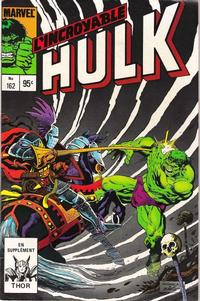 Cover Thumbnail for L' Incroyable Hulk (Editions Héritage, 1968 series) #162