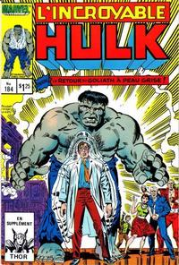 Cover Thumbnail for L' Incroyable Hulk (Editions Héritage, 1968 series) #184