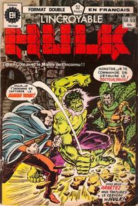 Cover Thumbnail for L&#39; Incroyable Hulk (Editions Hritage, 1968 series) #68/69