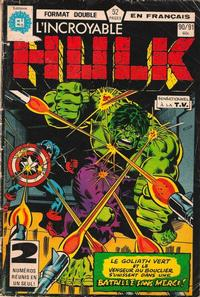 Cover Thumbnail for L' Incroyable Hulk (Editions Héritage, 1968 series) #90/91