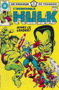 Cover Thumbnail for L' Incroyable Hulk (Editions Héritage, 1968 series) #142/143