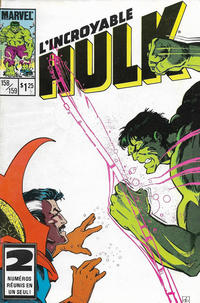 Cover Thumbnail for L' Incroyable Hulk (Editions Héritage, 1968 series) #158/159