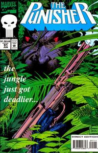 Cover Thumbnail for The Punisher (Marvel, 1987 series) #91