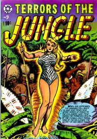 Cover Thumbnail for Terrors of the Jungle (Star Publications, 1953 series) #9
