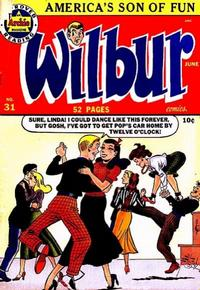 Cover Thumbnail for Wilbur Comics (Archie, 1944 series) #31