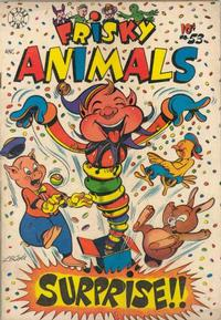 Cover Thumbnail for Frisky Animals (Star Publications, 1951 series) #53