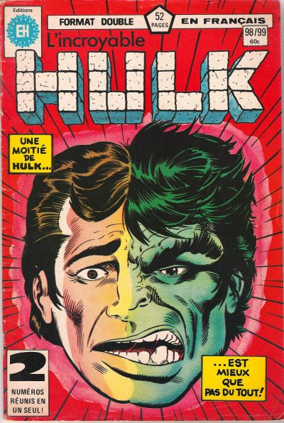 Cover for L' Incroyable Hulk (Editions Héritage, 1968 series) #98/99