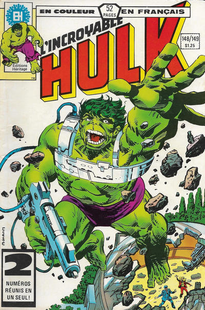 Cover for L' Incroyable Hulk (Editions Héritage, 1968 series) #148/149