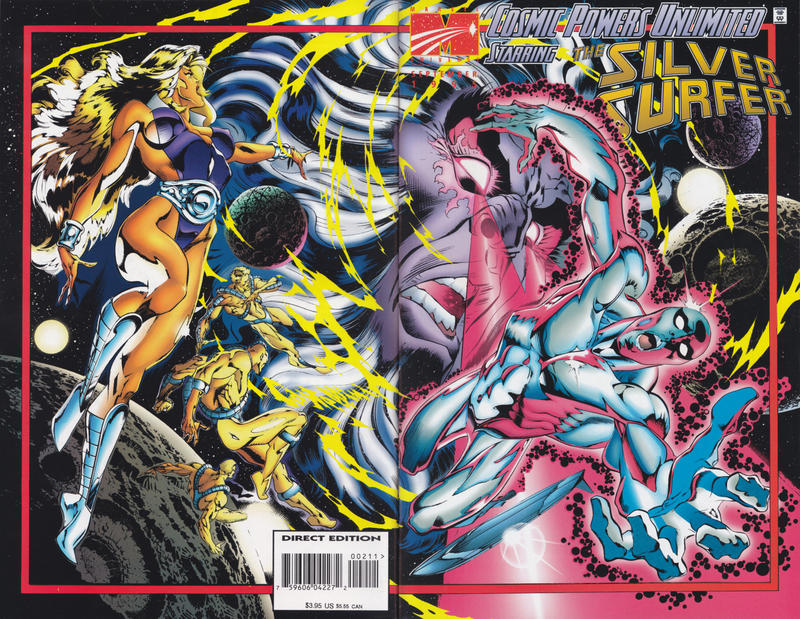 Cover for Cosmic Powers Unlimited (Marvel, 1995 series) #2