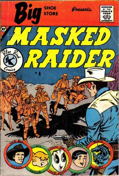 Cover for Masked Raider (Charlton, 1959 series) #4 [Big Shoe Store]