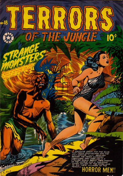 Cover for Terrors of the Jungle (Star Publications, 1952 series) #18