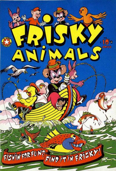 Cover for Frisky Animals (Star Publications, 1951 series) #44