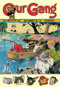 Cover Thumbnail for Our Gang Comics (Dell, 1942 series) #18