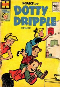 Cover Thumbnail for Horace & Dotty Dripple (Harvey, 1952 series) #43