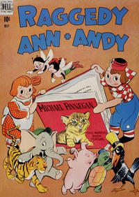 Cover Thumbnail for Raggedy Ann and Andy (Dell, 1946 series) #24