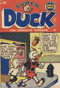 Cover Thumbnail for Super Duck Comics (Archie, 1944 series) #36