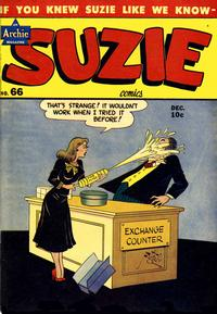 Cover Thumbnail for Suzie Comics (Archie, 1945 series) #66