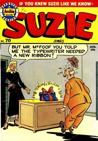 Cover Thumbnail for Suzie Comics (Archie, 1945 series) #70