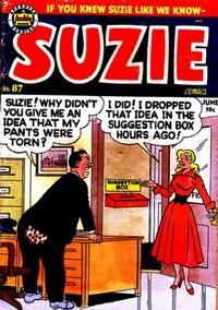Cover Thumbnail for Suzie Comics (Archie, 1945 series) #87
