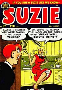Cover Thumbnail for Suzie Comics (Archie, 1945 series) #97