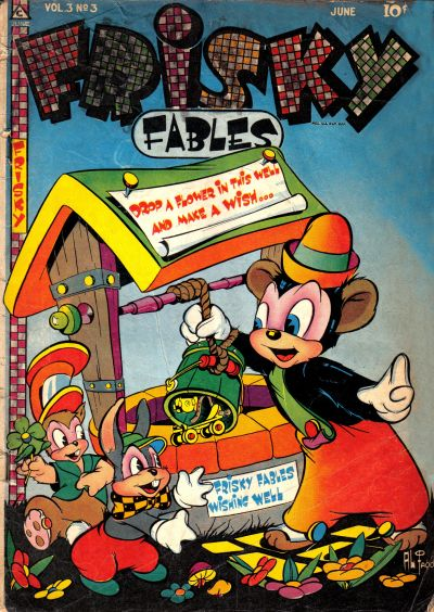 Cover for Frisky Fables (Novelty / Premium / Curtis, 1945 series) #v3#3 [18]