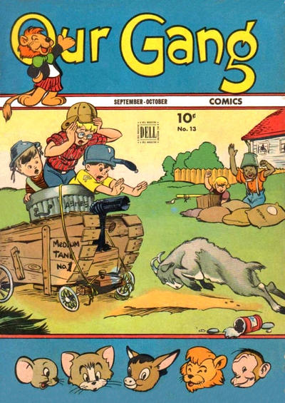 Cover for Our Gang Comics (Dell, 1942 series) #13