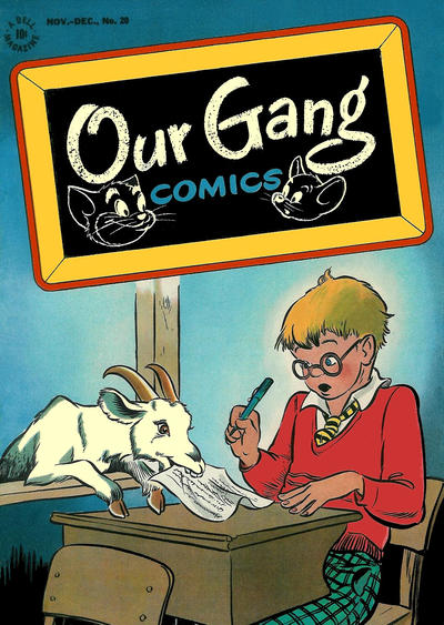 Cover for Our Gang Comics (Dell, 1942 series) #20