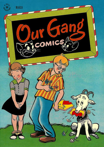 Cover for Our Gang Comics (Dell, 1942 series) #32