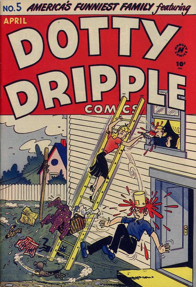 Cover for Dotty Dripple (Harvey, 1946 series) #5