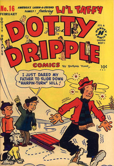 Cover for Dotty Dripple (Harvey, 1946 series) #16