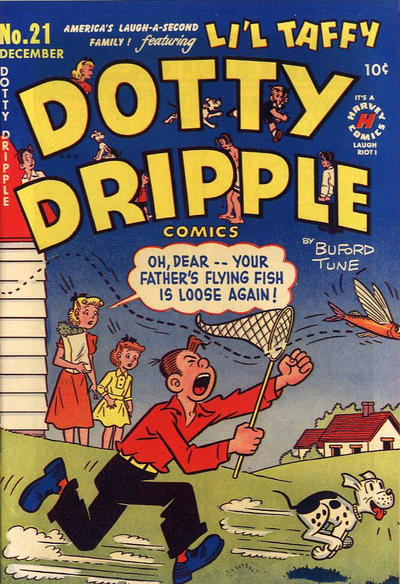 Cover for Dotty Dripple (Harvey, 1946 series) #21