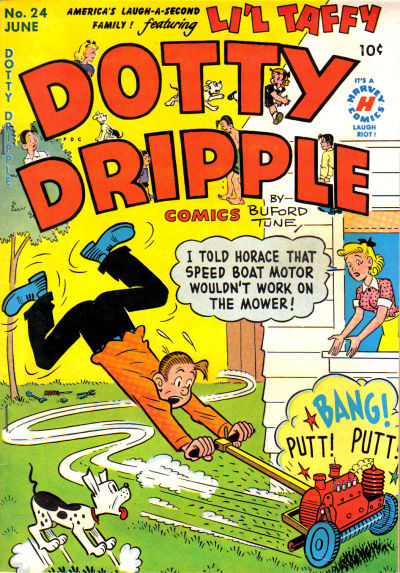 Cover for Dotty Dripple (Harvey, 1946 series) #24