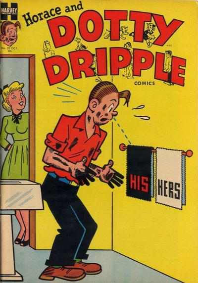 Cover for Horace & Dotty Dripple (Harvey, 1952 series) #32
