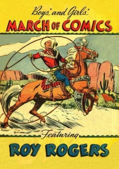 Cover for March of Comics (Western, 1946 series) #17