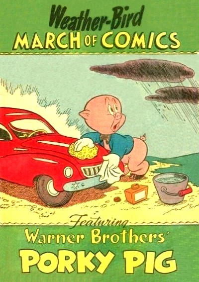 Cover for March of Comics (Western, 1946 series) #42 [Weather-Bird]