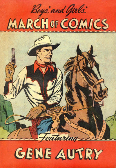 Cover for March of Comics (Western, 1946 series) #54