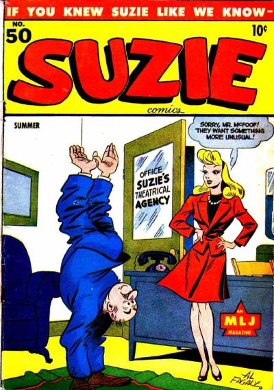 Cover for Suzie Comics (Archie, 1945 series) #50
