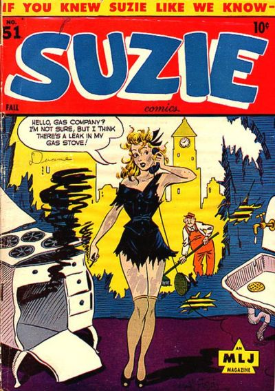 Cover for Suzie Comics (1945 series) #51