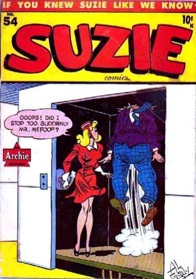 Cover for Suzie Comics (1945 series) #54