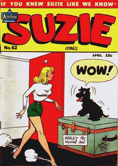 Cover for Suzie Comics (Archie, 1945 series) #62