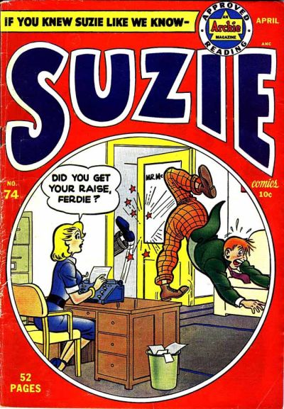 Cover for Suzie Comics (Archie, 1945 series) #74