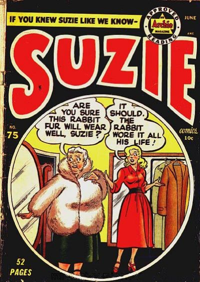 Cover for Suzie Comics (Archie, 1945 series) #75