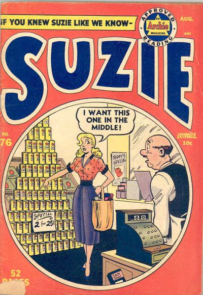 Cover for Suzie Comics (Archie, 1945 series) #76