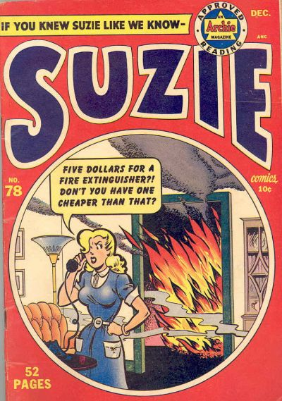 Cover for Suzie Comics (Archie, 1945 series) #78