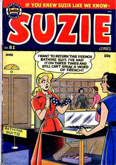 Cover for Suzie Comics (Archie, 1945 series) #81