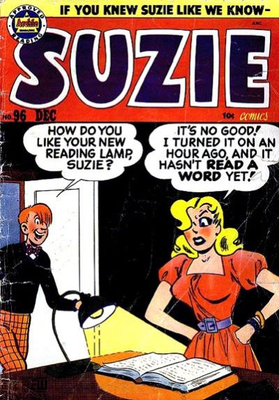 Cover for Suzie Comics (Archie, 1945 series) #96