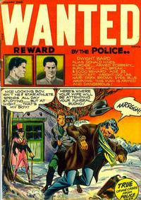 Cover Thumbnail for Wanted Comics (Orbit-Wanted, 1947 series) #11