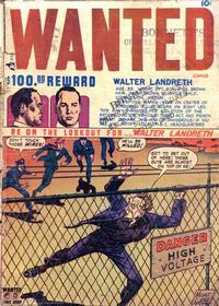 Cover Thumbnail for Wanted Comics (Orbit-Wanted, 1947 series) #18