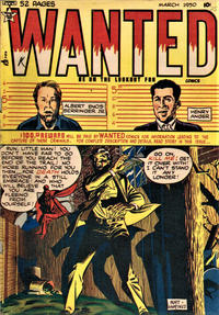 Cover Thumbnail for Wanted Comics (Orbit-Wanted, 1947 series) #25